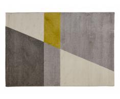 Tapis MATVEI - polypropylène - 160x230 cm - Gris