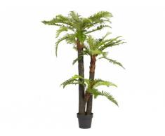 Arbre artificiel palmier TROPICALE tronc naturel - H.150cm
