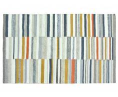 Tapis kilim tissé main en laine BODEGA - 120x170cm - Multicolore