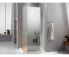 Paroi de douche à l'italienne VANESSA avec miroir - 90x200 cm