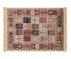 Tapis style oriental ADANA - 100% Viscose - 160x230 cm - Multicolore