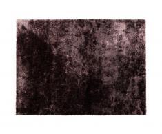 Tapis shaggy effet brillant TAIKO - Grammage : 1650g/m² - 140 x 200 cm - Mauve