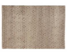 Tapis style berbère ADRIAN - polypropylène - 160x230 cm - Ecru