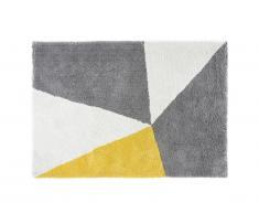 Tapis microfibre YULE - polyester - 120 x 170 cm - Multicolore
