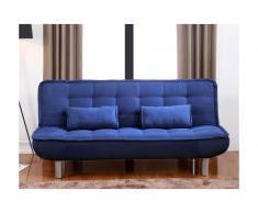 Canapé clic-clac MISHAN en tissu - Bleu