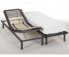 Lit relaxation manuel KUTA de DREAMEA - 2 x 70 x 190 cm