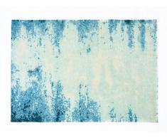 Tapis tissé CELADON - Polyester - Bleu - 160*230cm