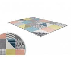 Tapis CASTIEL - polypropylène - 160x230cm - Multicolore