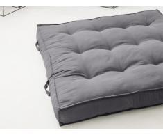 Coussin palette 100% coton DAN - 120 x 120 cm - Anthracite