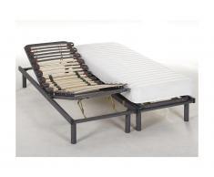 Lit relaxation manuel KUTA de DREAMEA - 2 x 80 x 200 cm
