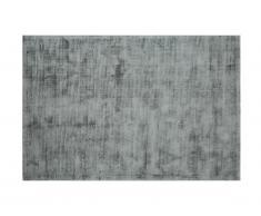 Tapis LOUVAIN - 100% viscose - 160 x 230 cm - Argenté