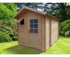 Sauna d'extérieur 3/4 places HELSINKI II - 2 pièces - L300*P250*H230cm