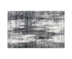 Tapis effet usé BLURRY - 200 x 290 cm - gris