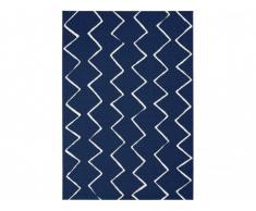Tapis style contemporain CHOPIN - Polypropylène - 200 x 290 cm - Bleu