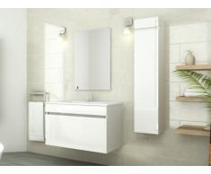 Ensemble KAHI - meubles de salle de bain - Laqué blanc