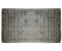 Tapis LOUVAIN - 100% viscose - 200 x 290 cm - Gris anthracite