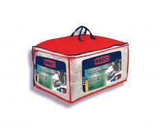 Pack DODO couette 240x260 cm + 2 oreillers ULTRA DOUX anti acariens - Rentrée des classes