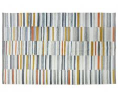 Tapis kilim tissé main en laine BODEGA - 200x290 cm - Multicolore