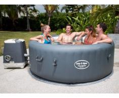 Spa gonflable 4-6 personnes B-FUNKY de BESTWAY - D196*H71 cm - 8 hydrojets - revêtement luxe