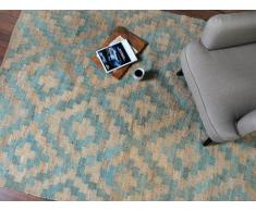 Tapis RILAS - 100% Chanvre tissé main - 160*230 cm - Naturel