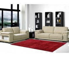 Tapis shaggy VOLUPTE rouge - polyester - 160*230cm