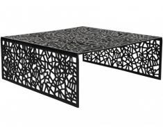 Table basse SPLENDEUR en aluminium - Coloris noir