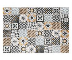 Tapis effet carreaux de ciment ORNICO - 160 x 230 cm - multicolore
