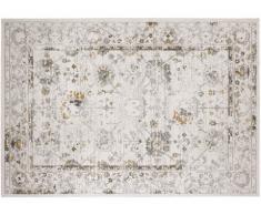 Tapis style vintage MODENA - effet usé - 100% Polypropylène - 160x230 cm - Ecru