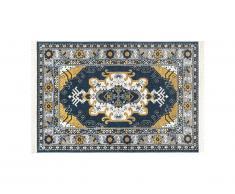 Tapis oriental à franges LAHORE - 120 x 170 cm - Multicolore