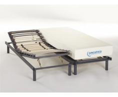 Lit relaxation manuel UBUD de DREAMEA - 2 x 70 x 190 cm