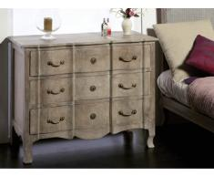 SOLDES - Commode baroque SOUVERAIN - 3 tiroirs