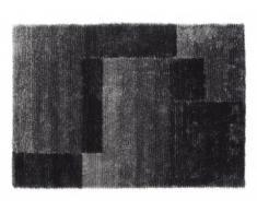 Tapis shaggy NAGANO anthracite - polyester - 120*170cm
