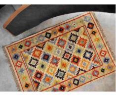Tapis LAZAR - 100% Laine - 160*230 cm - Multicolore