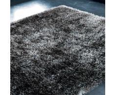 Tapis à poils longs en tissu anthracite 200 x 300 cm POLAIRE