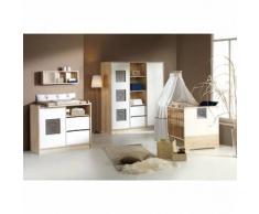 SCHARDT Eco Slide Chambre d'enfant avec armoire 2 portes et étagères centrales