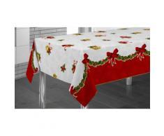 Nappe de table Noël en modèle Cloches - 240 x 150 cm