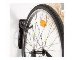 Patère pour vélo - Monoprix x Perigot couleur noir BIKE WITH LOVE