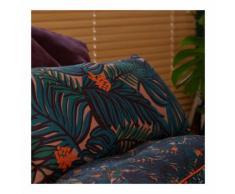Coussin rectangulaire Amazonie couleur PETROLE Monoprix Maison