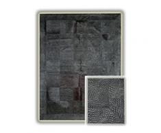 Tapis en peau de vache avec relief Arona AlloTapis, 140 x 200 cm