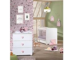 Chambre bébé Duo Basic Coeur,