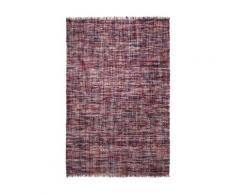 Tapis pure laine pourpre Purl Esprit Home, 130 x 190 cm