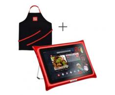 Tablette QOOQ ULTIMATE rouge + tablier,