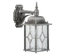 Applique extérieure lanterne carrée rétro style rustique,