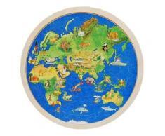 Puzzle globe terrestre,