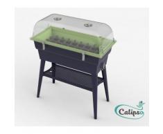 Jardinière Calipso COMBI 40L (Coloris : gris/turquoise),