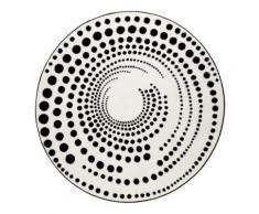 Tapis rond design géométrique Eddy Esprit Home, diamètre 100 cm