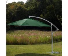 Parasol déporté 300/8 fibre de verre 5 coloris au choix,