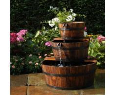 Fontaine de jardin 3 tonneaux en cascade EDINBURGH