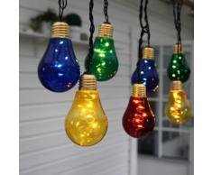 GLOW - Guirlande ampoules 10 LED Multicolore L5m - Guirlande et objet lumineux Xmas Living Glass designé par