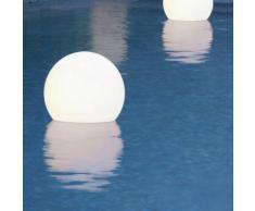 ACQUAGLOBO - Lampe flottante d'extérieur Ø40cm - Luminaire d'extérieur Slide designé par
